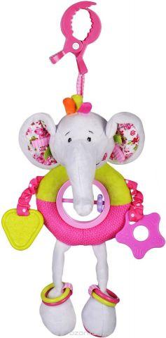 Жирафики Игрушка-подвеска Слонёнок Тим с прорезывателями и погремушками