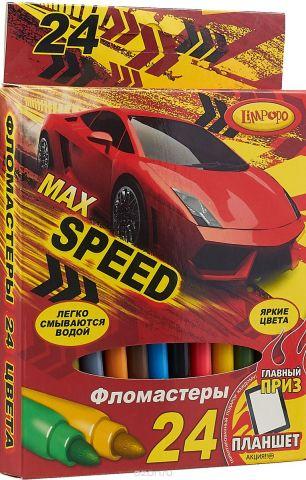 Limpopo Набор фломастеров Max speed 24 шт