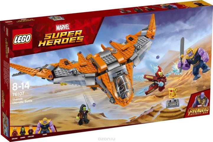 LEGO Super Heroes Конструктор Танос Последняя битва 76107