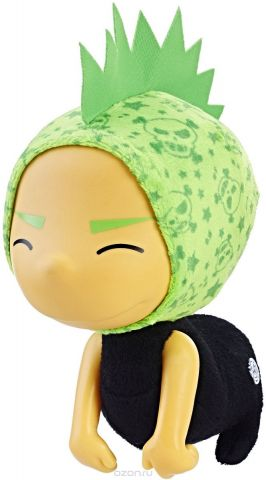 Hanazuki Мягкая игрушка Литтл Дример цвет черный зеленый 17,5 см