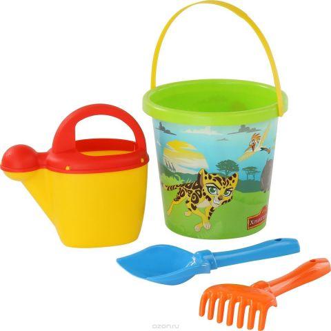 Disney Набор игрушек для песочницы Хранитель Лев №7 4 предмета