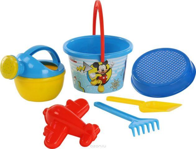 Disney Набор игрушек для песочницы Микки и Веселые гонки №8