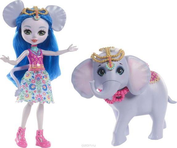 Enchantimals Игровой набор с куклой Ekaterina Elephant & Antic
