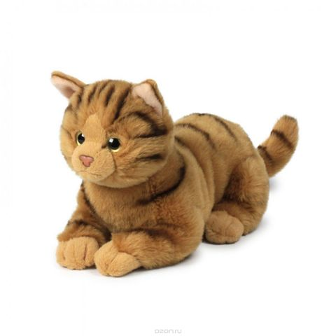 Anna Club Plush Кошка бенгальская, лежит 20 см