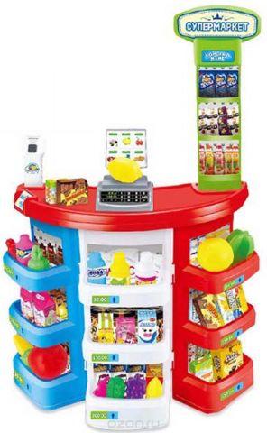 ABtoys Игровой набор Супермаркет Помогаю Маме 38 предметов