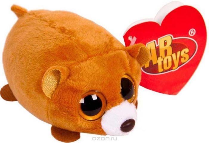 ABtoys Мягкая игрушка Медвежонок 10 см