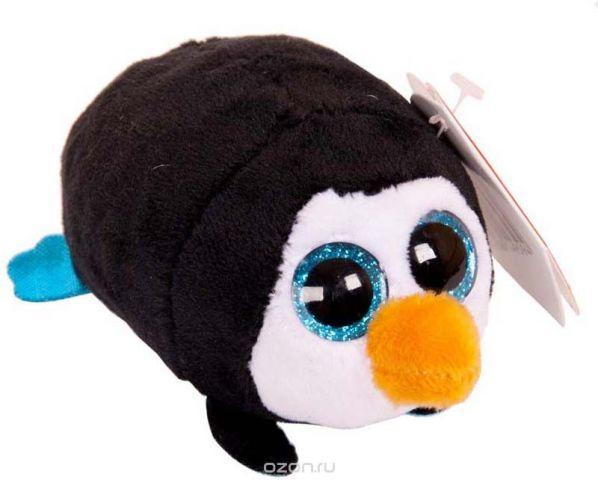 Teddy Мягкая игрушка Пингвин цвет черный 10 см