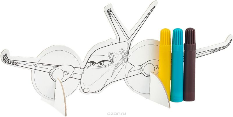 Disney Набор для рисования Самолет