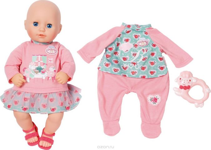 Zapf Creation Кукла My first Baby Annabell С дополнительным набором одежды 36 см