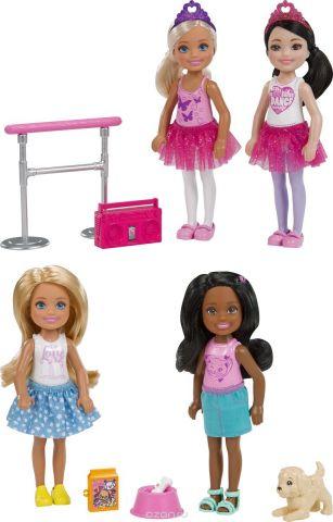 Barbie Кукла Челси 2 шт
