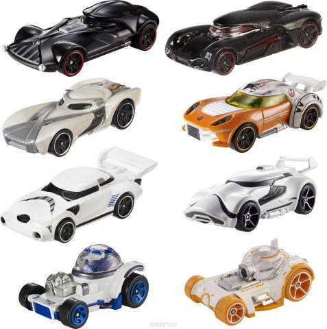 Hot Wheels Трековые машинки Машинки-корабли персонажи Star Wars