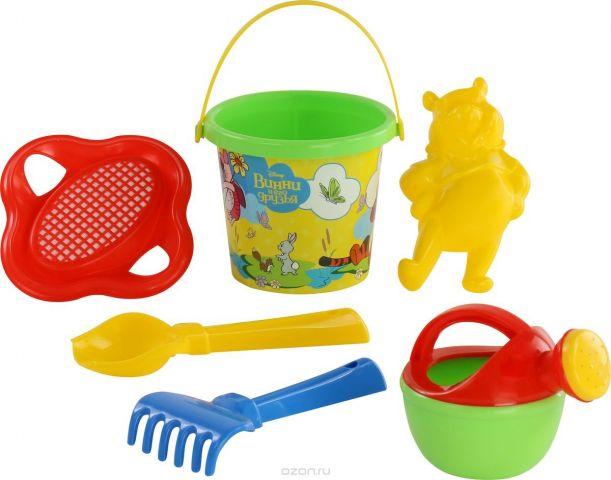 Disney Набор игрушек для песочницы Винни и его друзья №4