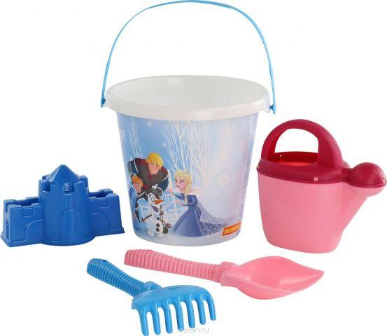 Disney Набор игрушек для песочницы Холодное сердце №13 5 предметов