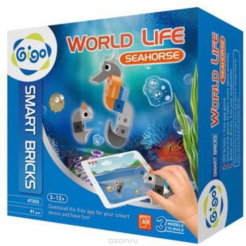 Gigo Конструктор Животный мир Морской конек
