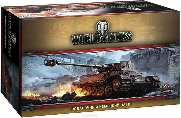 World of Tanks Настольная игра Набор немецкий