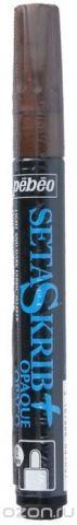 """Маркер для ткани Pebeo """"Setaskrib+ Opaque"""", цвет: медный металлик, 2 мм"""