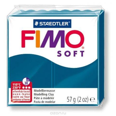Fimo Soft Глина полимерная цвет синий