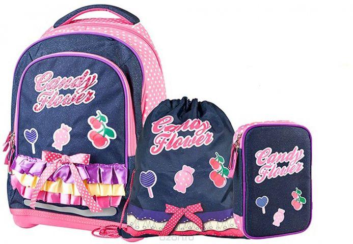 Target Collection Ранец школьный Сладкие цветы 4 в 1