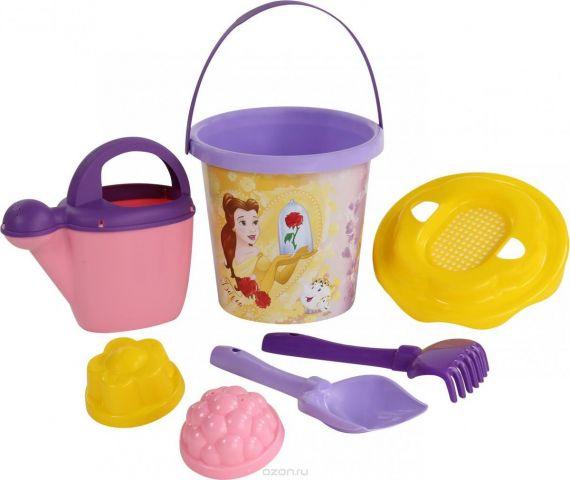 Disney Набор игрушек для песочницы Принцесса №12 7 предметов