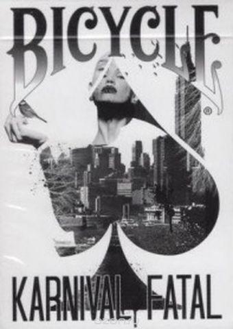 """Карты игральные """"Bicycle. Karnival Fatal"""". К-816"""