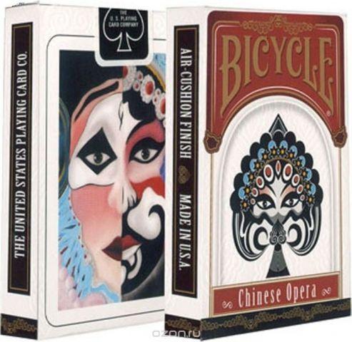 """Карты игральные """"Bicycle. Китайская опера"""". К-827"""