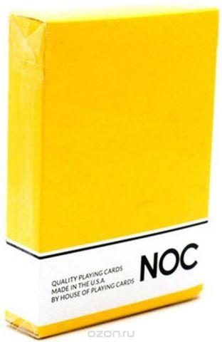 """Карты игральные """"NOC. Оригинал"""", цвет: желтый"""