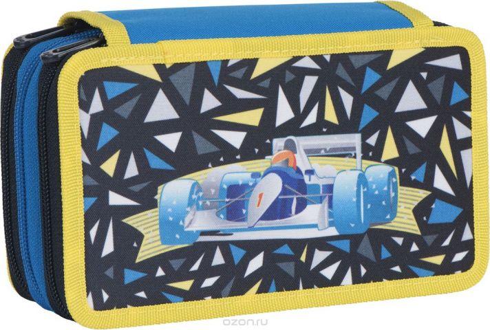 Tiger Family Пенал Dynamile Racer цвет синий 227004