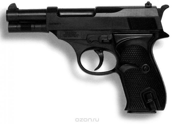 Edison Игрушечное оружие Пистолет Eaglematic