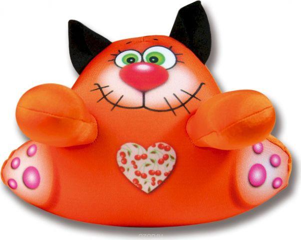 Штучки, к которым тянутся ручки Игрушка для ванной Аква крошки Кот цвет оранжевый