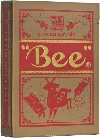 """Карты игральные """"Bee. Год козы"""". К-814"""