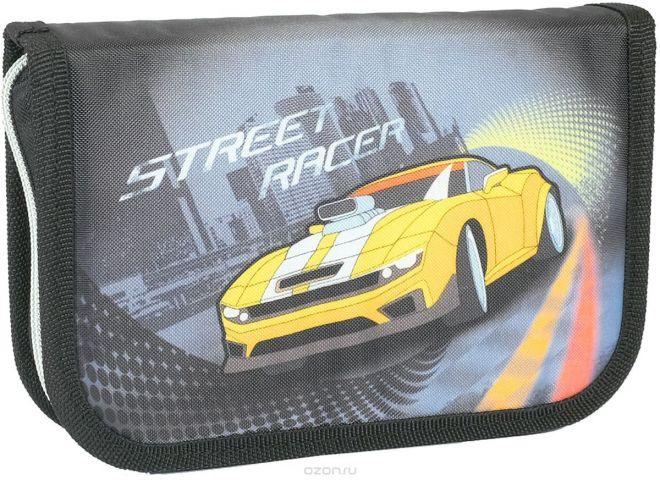 MagTaller Пенал Racer с наполнением 27 предметов