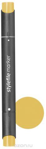 Stylefile Маркер двухсторонний Classic цвет 160 желтый оливковый