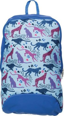 №1 School Рюкзак молодежный Леопарды