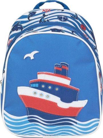 №1 School Рюкзак дошкольный Пароходик