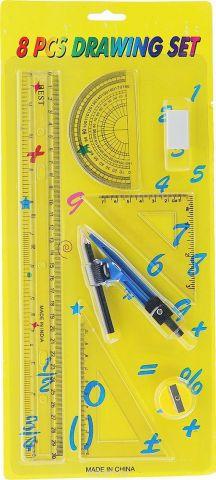 Геометрический набор цвет желтый 7 предметов 675555