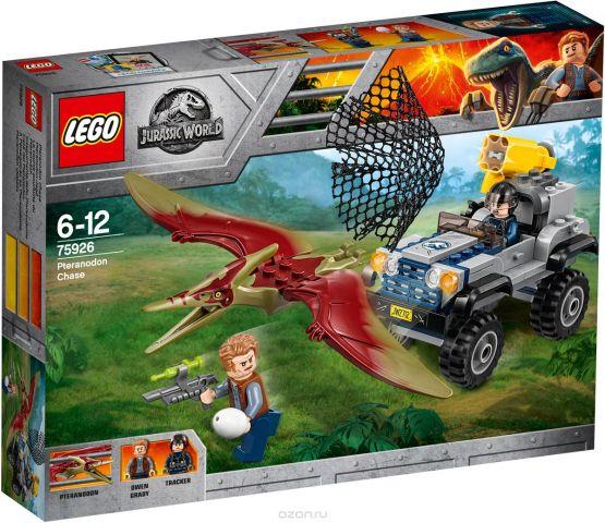 LEGO Jurassic World Конструктор Погоня за птеранодоном