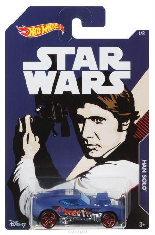 Hot Wheels Star Wars Трековая машинка Han Solo Twinduction