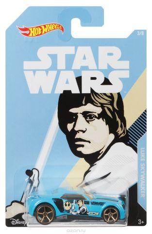 Hot Wheels Star Wars Трековая машинка Luke Skywalker Bully Goat