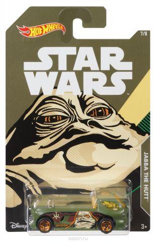 Hot Wheels Star Wars Трековая машинка Jabba The Hutt Deora II