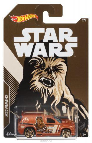 Hot Wheels Star Wars Трековая машинка Chewbacca Fandango