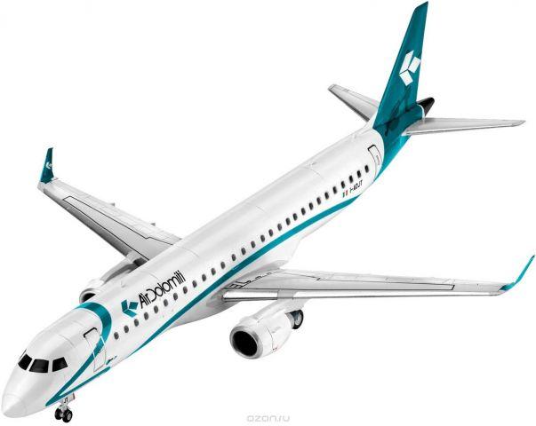 Revell Модель для сборки Сборная модель Пассажирский самолет Embraer 195 1:144