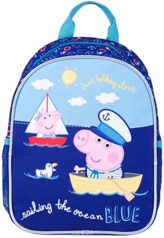 Peppa Pig Рюкзак детский Свинка Пеппа и море цвет синий 33619