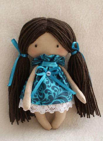 """Набор для изготовления текстильной игрушки Happy Hands """"Кристина"""", высота 15 см"""