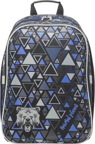 Action! Рюкзак детский Animal Planet цвет черный синий