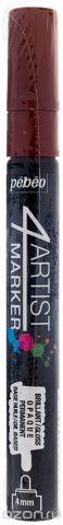 Pebeo Маркер художественный 4Artist Marker цвет коричневый 580119