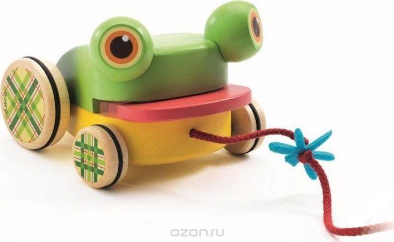 Djeco Игрушка-каталка Лягушка