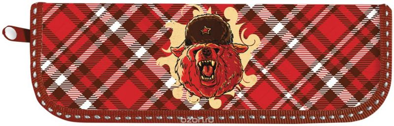 Brauberg Пенал Медведь 104576