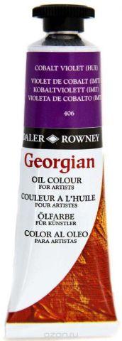 Daler Rowney Краска масляная Georgian цвет фиолетовый кобальт (имитация) 38 мл