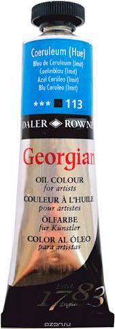Daler Rowney Краска масляная Georgian цвет церулеум (имитация) 38 мл