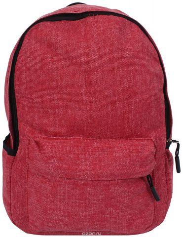 Рюкзак детский Джинс цвет красный 1229549